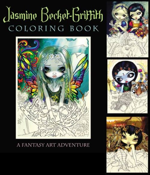 Jasmine Becket-Griffith Colouring Book
