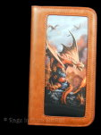 Fire Dragon Phone Wallet
