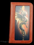 Desert Dragon Phone Wallet
