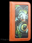 Jade Dragon Phone Wallet