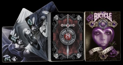 Dark Hearts Poker Cards