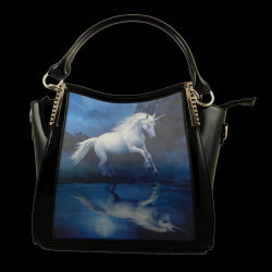 Moonlight Unicorn 3D Handbag