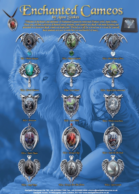 Enchanted Cameos By Anne Stokes