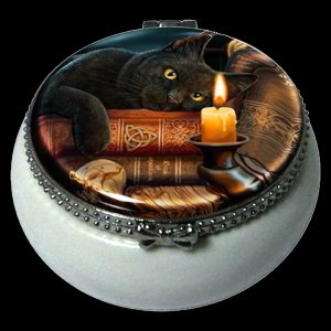 The Witching Hour Ceramic Box